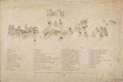 The Consecration of the Emperor Napoleon I and the Coronation of the Empress Josephine-Jacques-Louis David-Giclee Print