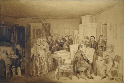 The Consequences of Fidelka's Death, 1844-Pavel Andreyevich Fedotov-Giclee Print
