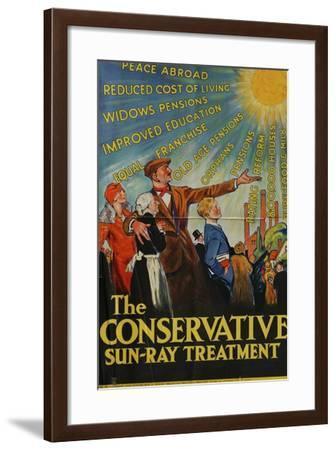 The Conservative Sun-Ray Treatment--Framed Giclee Print