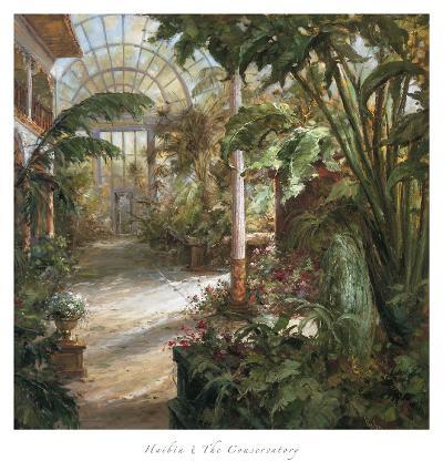 The Conservatory-Haibin-Art Print
