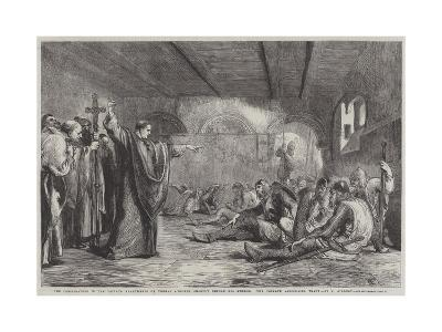 The Conspirators in the Private Apartments of Thomas A'Becket Shortly before His Murder-Sir John Gilbert-Giclee Print