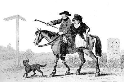 The Constant Couple, 1786--Giclee Print