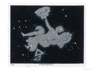 The Constellation of Andromeda-Charles F^ Bunt-Giclee Print