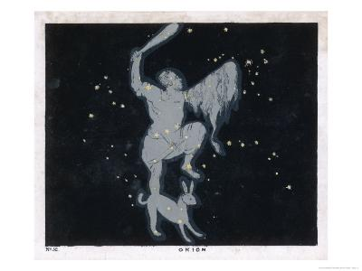 The Constellation of Orion One of the Most Brilliant in the Heavens-Charles F^ Bunt-Giclee Print