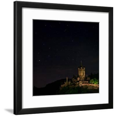 The Constellation Scorpius over Cochem Castle, on the Banks of the Moselle River-Babak Tafreshi-Framed Photographic Print