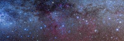 The Constellations of Puppis and Vela in the Southern Milky Way--Photographic Print