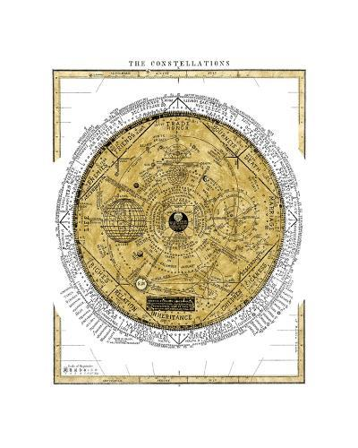 The Constellations-Oliver Jeffries-Giclee Print