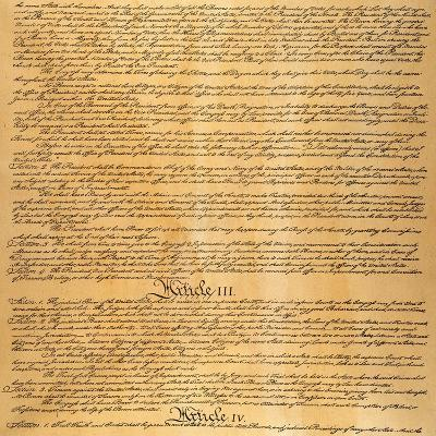 The Constitution, 1787--Giclee Print