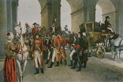The Consuls Take Possession of the Tuileries-Felicien Baron De Myrbach-rheinfeld-Giclee Print