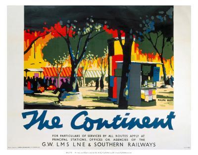 The Continent, GWR/LMS/LNER/SR, c.1923-1947--Art Print
