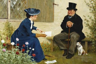 The Contract-William III Bromley-Giclee Print