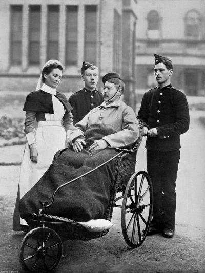 The Convalescent, Herbert Hospital, Woolwich, London, 1896-Gregory & Co-Giclee Print