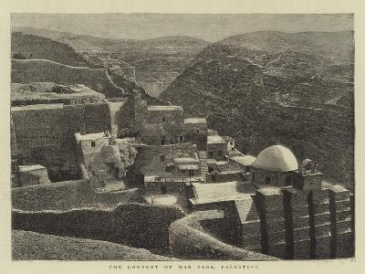 The Convent of Mar Saba, Palestine--Giclee Print