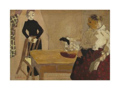 The Conversation, 1891-Edouard Vuillard-Giclee Print