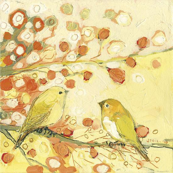 The Conversation-Jennifer Lommers-Art Print