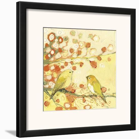 The Conversation-Jennifer Lommers-Framed Art Print