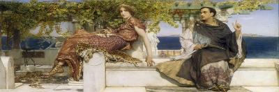 The Conversion of Paula by Saint Jerome, 1898-Sir Lawrence Alma-Tadema-Giclee Print
