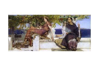 The Conversion of Paula-Sir Lawrence Alma-Tadema-Giclee Print