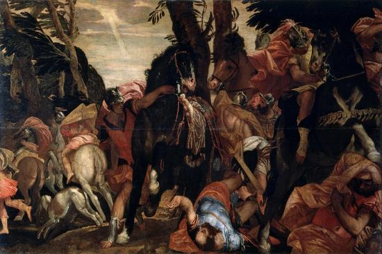 The Conversion of Saint Paul, C1570-Paolo Veronese-Giclee Print
