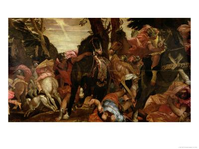 The Conversion of Saul, P.1580-Paolo Veronese-Giclee Print