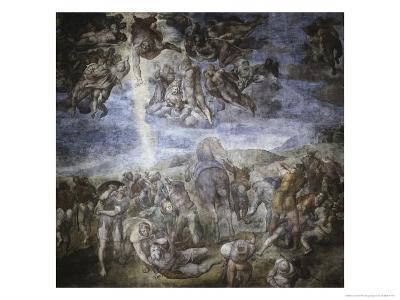 The Conversion of Saul-Michelangelo Buonarroti-Giclee Print