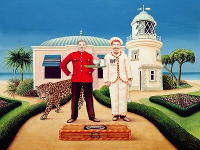 The Cook and Waiter, 1996-Anthony Southcombe-Giclee Print