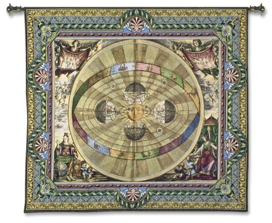 The Copernican System--Wall Tapestry