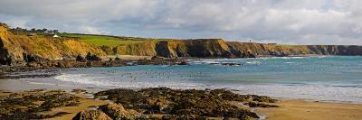 The Copper Coast, from Boatstrand Harbour, Co Waterford, Ireland--Photographic Print