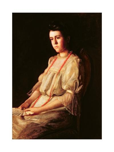 The Coral Necklace, 1904-Thomas Cowperthwait Eakins-Giclee Print