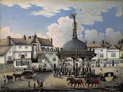 The Cornhill, Ipswich, C.1800--Giclee Print