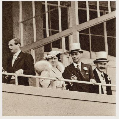 The Coronation Derby: Watching the Race from the Royal Box--Photographic Print