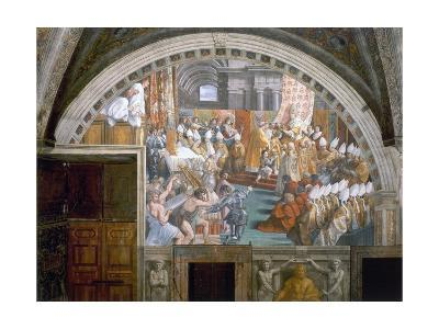 The Coronation of Charlemagne-Raphael-Giclee Print