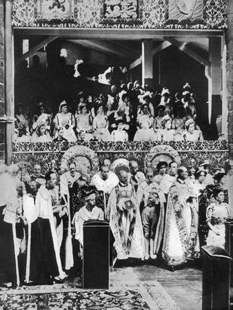 The Coronation of King George V, Westminster Abbey, 22 June 1911--Giclee Print