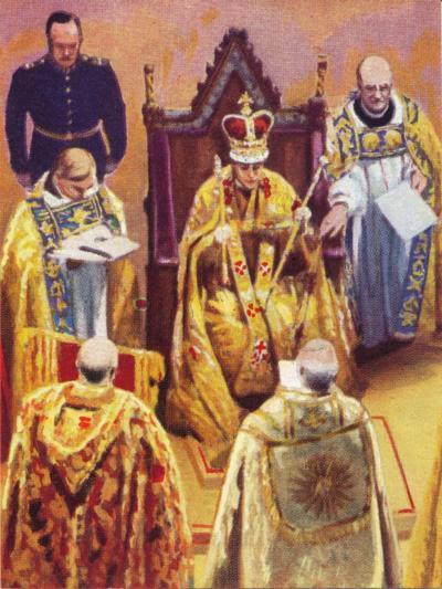 The Coronation of King George VI (1895-195), 12 May, 1937--Giclee Print