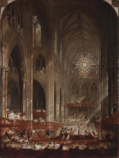 The Coronation of Queen Victoria-John Martin-Giclee Print