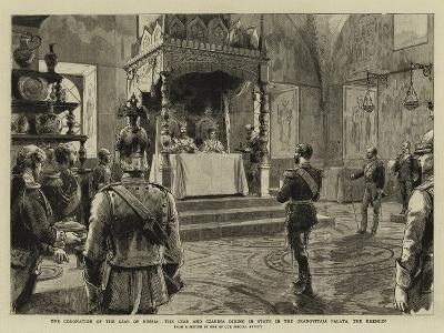 The Coronation of the Czar of Russia-Godefroy Durand-Giclee Print