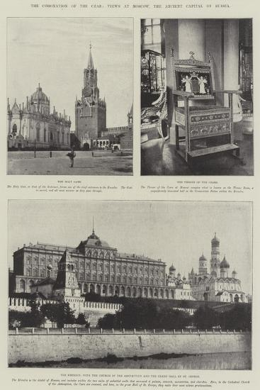 The Coronation of the Czar, Views at Moscow, the Ancient Capital of Russia--Giclee Print