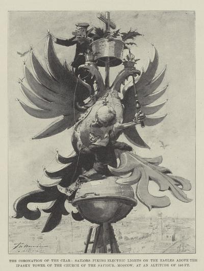 The Coronation of the Czar-Frederic De Haenen-Giclee Print