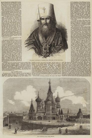 The Coronation of the Czar--Giclee Print