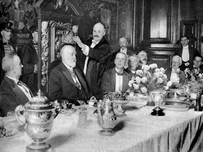 The Coronation of the Master of the Girdlers' Company, London, 1926-1927--Giclee Print