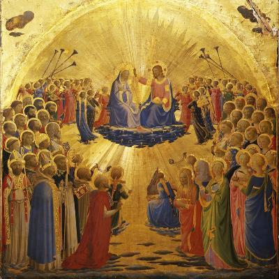 The Coronation of the Virgin, 1434-1435-Fra Angelico-Giclee Print