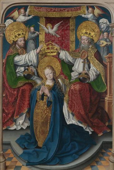 The Coronation of the Virgin (The Liesborn Altarpiec), C. 1520-Jan Baegert-Giclee Print
