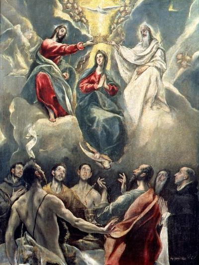 The Coronation of the Virgin-El Greco-Giclee Print