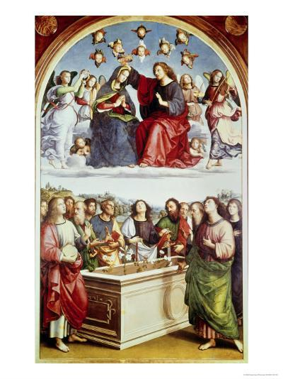 The Coronation of the Virgin-Raphael-Giclee Print