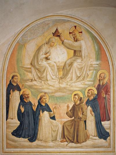 The Coronation of the Virgin-Beato Angelico-Giclee Print