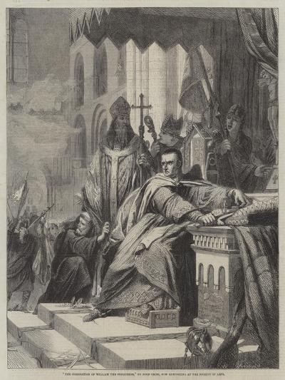 The Coronation of William the Conqueror-John Cross-Giclee Print
