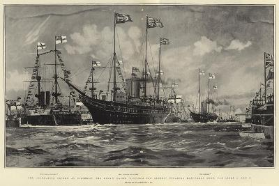 The Coronation Review at Spithead-Charles Edward Dixon-Giclee Print