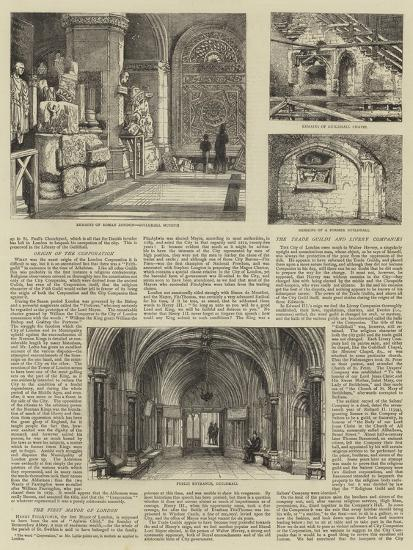 The Corporation of London-Henry William Brewer-Giclee Print