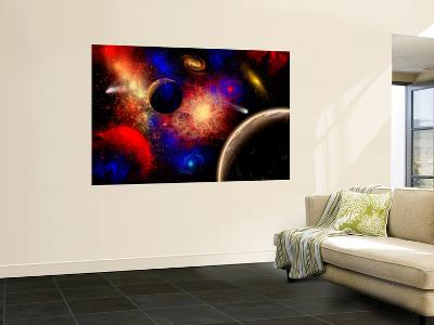 The Cosmos Is a Place of Outstanding Natural Beauty and Wonder-Stocktrek Images-Wall Mural