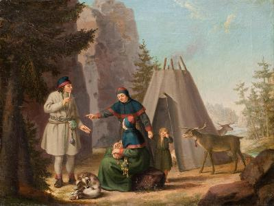 The Costumes of the Lapponians, c.1800-Pehr Hillestrom-Giclee Print